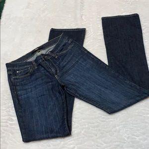 ELSE Brand mini bootcut jeans